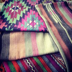 vibrant turkish pillow covers #kilim