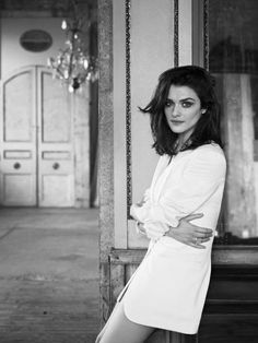 I tried to convince my youngest that we look alike.  rachel weisz