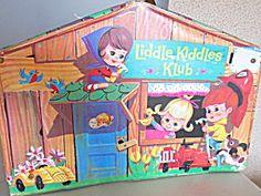 Liddle Kiddles Klub Doll House, 1965
