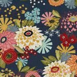 Basic Grey PB Daisy Mae Picnic Blue [MODA-30320-12] - $10.45 : Pink Chalk Fabrics is your online source for modern quilting cottons and sewing patterns., Cloth, Pattern + Tool for Modern Sewists