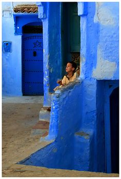 Buy This Print! This photo is available to purchase in different print formats including framed, block-mounted and cards from RedBubble here See the sec. The Blue City Popular Photography, Blue City, Blue Whale, India, Old Doors, People Of The World, Color Of Life, North Africa, Color Themes