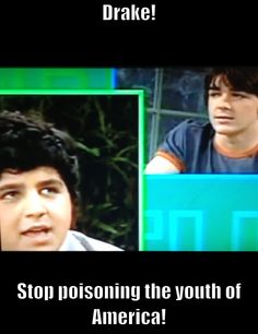 Drake and Josh! Best Tv Shows, Favorite Tv Shows, Favorite Things, Awesome Quotes, Best Quotes, Old Nickelodeon Shows, Icarly And Victorious, Zoey 101, Drake And Josh