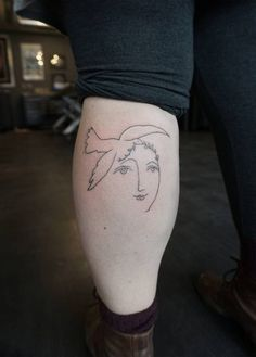 Handpoked Pablo Picasso drawing