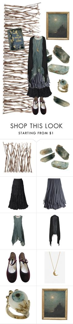 """Driftwood Fairy"" by zitahawthorne ❤ liked on Polyvore featuring Calypso St. Barth, Valentino, Marc Jacobs, DailyLook, HARRISON, stregafashion and strega"