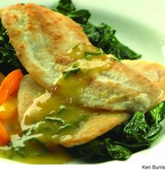 Sautéed Haddock With Orange-Shallot Sauce [Healthy, Seafood, High-protein, Low-carbohydrate]