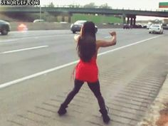 twerkin' my way downtown, walking fast, faces pass and i'm home bound