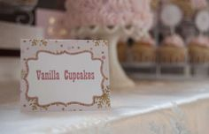 Winter ONEderland Pink and Gold First Birthday Party Birthday Party Ideas | Photo 2 of 37