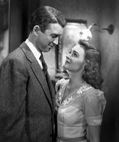 George Bailey and Mary Hatch, <i>It's a Wonderful Life</i>