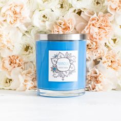 Find a sense of tranquility with the cool and calming scents of Citrus & Sea Moss.