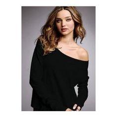 Kristin Cavallari's Black Off the Shoulder Sweater from The Hills (Season 6: Ep.1). « Thebudgetista's Blog