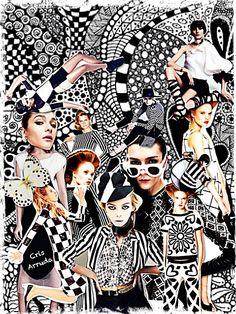 Artes da Cris: Colagens da semana: Overdose P