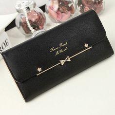 Women-Fashion-Leather-Bifold-Wallet-Clutch-Card-Holders-Purse-Lady-Long-Handbag