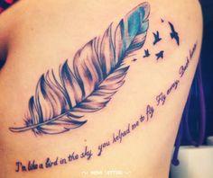 Tattoo de pluma
