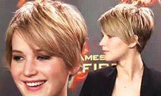 Jennifer Lawrence Pixie Haircut | Jennifer Lawrence chops her locks into a pixie haircut