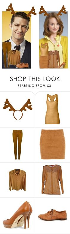 """Glee:Christmas:Will and Emma"" by glee2shake ❤ liked on Polyvore featuring Jean Colonna, J Brand, STOULS, The Kooples, Vivienne Westwood Red Label, MICHAEL Michael Kors and Dollhouse"
