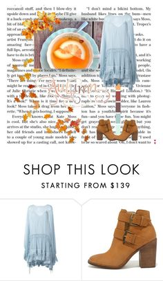 """""""Autumn Tea Drinkers"""" by sunflower1999 ❤ liked on Polyvore featuring Chloé and Steve Madden"""