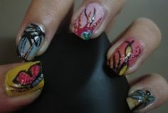 Nail Art Collections -5 Free Hand Nail Arts