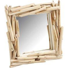 Miroir imitation bois flotté carré 23x23x3cm AUBRY GASPARD : prix, avis & notation, livraison. Découvrez ce magnifique petit miroir avec un cadre qui imite les bois flottants d'un fleuve. Avec son coloris et son design, ce miroir carré imitation bois flotté fera un objet décoration très originale et attrayant. Vous pourrez placer ce miroir carré dans une entrée de votre maison, dans la salle de bain, sur un meuble ou mur de votre maison, dans votre chambre etc. Ce joli miroir imitation bois…