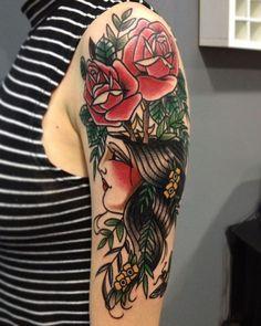 15 Tatuagens Old School da artista Marjoh Queiroz