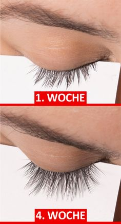 1 active ingredient for eyelashes like a 1 Wirkstoff für Wimpern wie ein Urwald? Does this 1 active ingredient really cause oversized eyelashes and eyebrows in record time? EMMA magazine tested it! Beauty Make Up, Beauty Care, Beauty Skin, Beauty Hacks, Hair Beauty, Thicker Eyelashes, Longer Eyelashes, Natural Eyelashes, Eyebrow Makeup