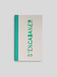 stencil type die cut cover, by agathe demois Graphic Design Print, Graphic Design Layouts, Brochure Design, Graphic Design Inspiration, Design Editorial, Editorial Layout, Book Cover Design, Book Design, Cool Books