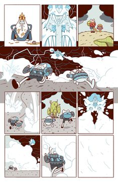 Adventure Time - Luke Pearson - Illustration and Comics