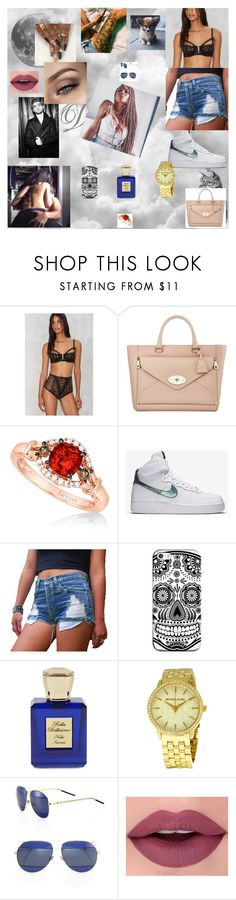 """my dream 6"" by nikoleta-nicky-malik ❤ liked on Polyvore featuring Mulberry, LE VIAN, NIKE, Casetify, Bella Bellissima, Michael Kors and Christian Dior"