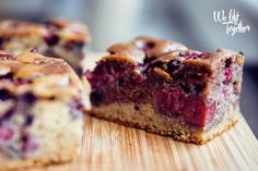 Zdravá Ovocná Bublanina | We Lift Together Healthy Cake, Healthy Sweets, Healthy Recipes, Healthy Food, Banana Bread, Smoothies, Deserts, Muffin, Good Food