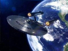 Enterprise departs Earth