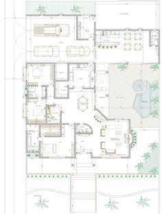 Projeto de Casa de 3 quartos com 254,86m²