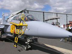 South Africa Ysterplaat SAAF Saab JAS 39 Gripen Cape Town