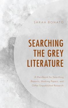Searching the Grey Literature ebook by Sarah Bonato - Rakuten Kobo Grey Literature, Searching, Audiobooks, This Book, Ebooks, Reading, Free Apps, Products, Collection