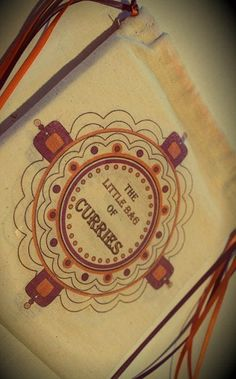 """Welcome to the sweet life! A standout item is """"The Little Bag of Curries"""" handmade bag containing a collection of recipe cards with beautiful artwork. Available from Bondi Markets at the 'Little Skip'' stall."""
