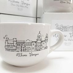 PRESALE Athens Georgia Classic City Skyline Mug by NattyMichelle