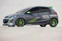 Mazda 2Evil Special Concept