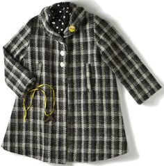 dagmar daley vintage | dagmar daley — swing coat- plaid