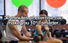 People need to exercise