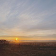 Each day is unique and ever changing. I love watching the sunrise through the fog in the morning, it's my quiet time. Kara, Sunrise, Celestial, My Love, Unique, Outdoor, Outdoors, Outdoor Games, The Great Outdoors