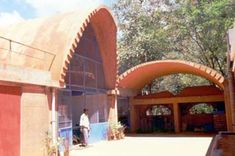 Auroville Earth Institute Dome Structure, Concrete Structure, Rammed Earth Wall, Tadelakt, Living Off The Land, Upload Pictures, Training Courses, Vaulting, Natural Stones