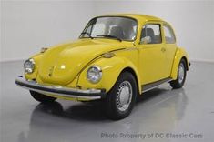 """1974 Volkswagen Beetle - the last of 3. . . this one had a """"crank"""" sunroof and rayon radial tires."""