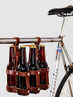 Definitely going to need this for summertime! Fyxation Six-Pack Bike Caddy #beer