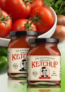 Sir Kensington's Gourmet Scooping Ketchup Glass Packaging, Packaging Design, National Cheeseburger Day, Wonderful Things, My Favorite Things, Glass Containers, Consumer Products, Ketchup, Things To Come