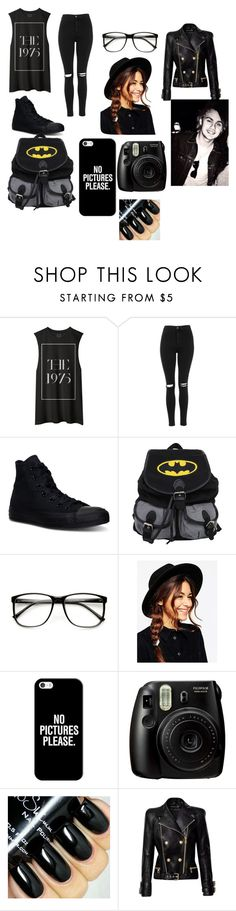 """Hanging with Michael Clifford"" by cassie5sos on Polyvore featuring Topshop, Converse, ASOS, Casetify, Balmain, women's clothing, women, female, woman and misses"
