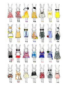 Fifi Lapin - love it! So adorable...