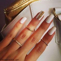 FabFashionFix - Fabulous Fashion Fix | Nails: White nails & nail art inspirations
