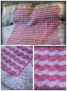 Check out this item in my Etsy shop https://www.etsy.com/uk/listing/481028583/hand-knitted-pink-and-white-blanket