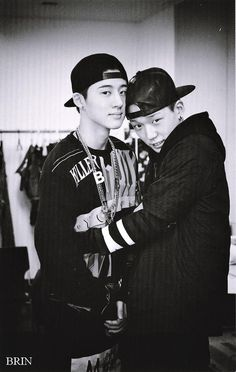 B.I and Bobby ...Don't be confused by the picture. These are some badass rappers