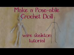 How to Make a Wire Skeleton for your Dolls - YouTube