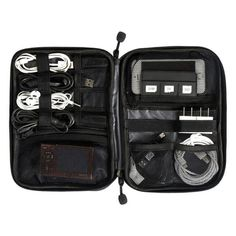 Travel Accessories ECOSUSI Electronic Accessories Bag Nylon Mens Travel Accessories For Date Line SD Card USB Cable Digital Device Bag Accessories *** This is an AliExpress affiliate pin. Click the image to find out more on AliExpress website Nylons, Travel Accessories For Men, Electronics Accessories, Electronics Projects, Men's Accessories, Digital Cable, Bags Travel, Cheap Travel, Travel Backpack