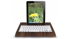 Wooden iPad Station, by Hekseskudd $139